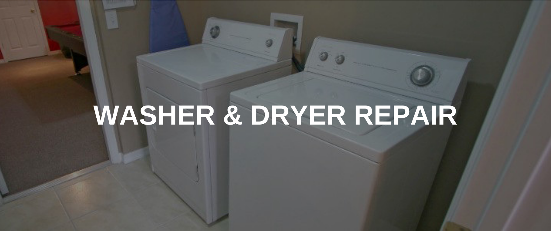 washing machine repair waterbury